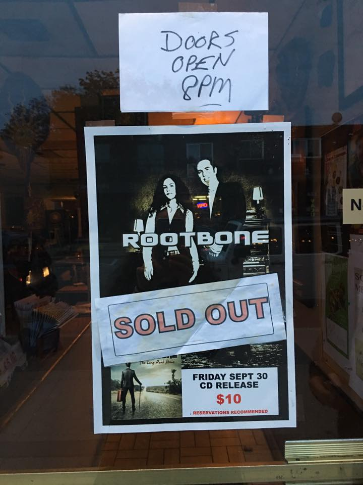 RootBone Show Sold Out
